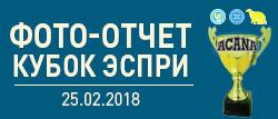 Фото-отчет кубок ЕСПРИ 2018